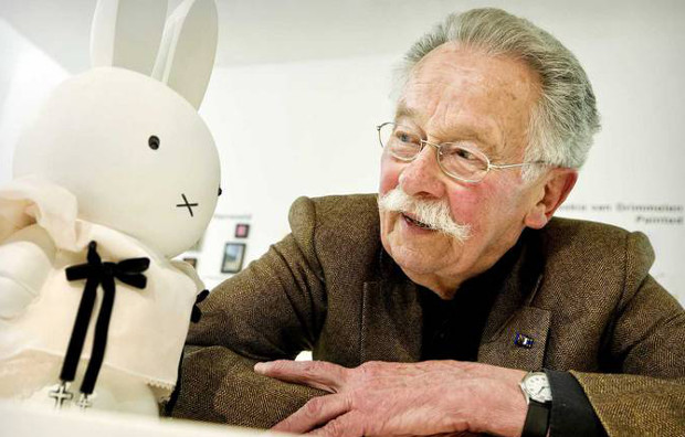 IMG DICK BRUNA, Creator of Cartoon Rabbit Miffy