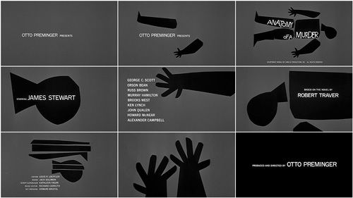 Anatomy of a Murder Title Sequence