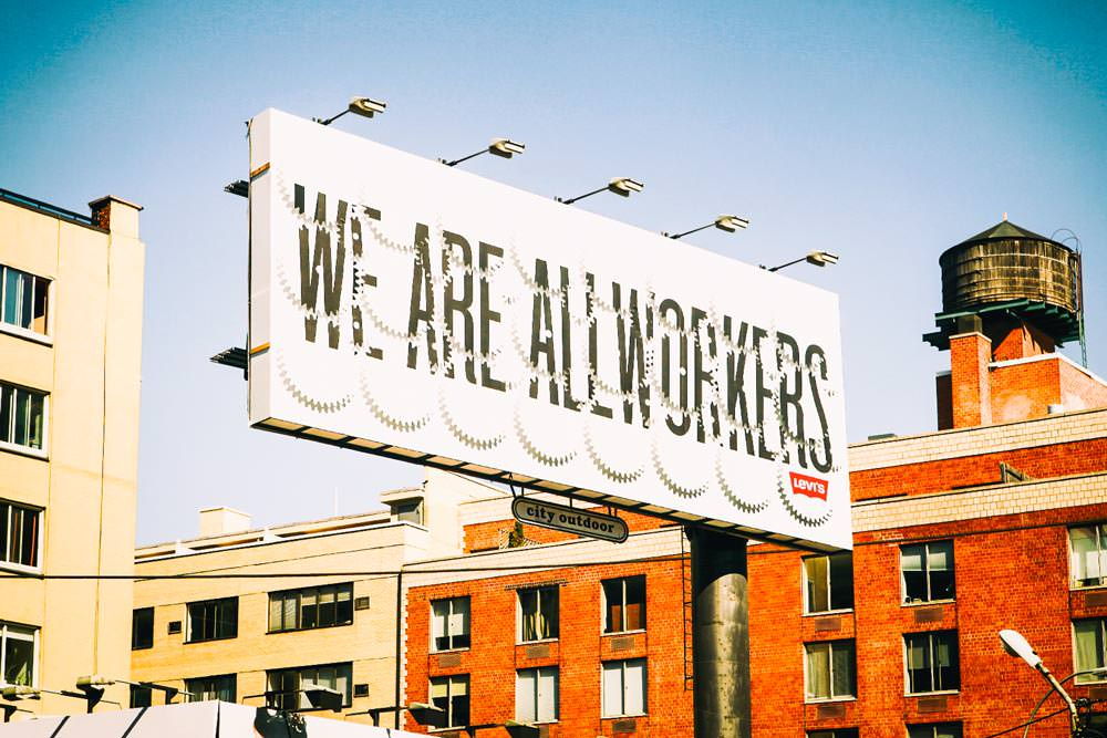 Levi's Billboard, SoHo, NYC